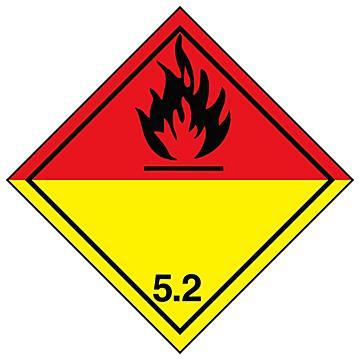 Hazard Class 5 International Labels