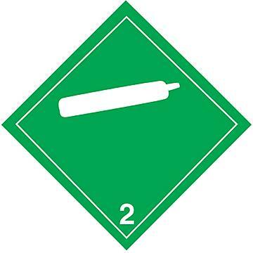 Hazard Class 2 International Placards