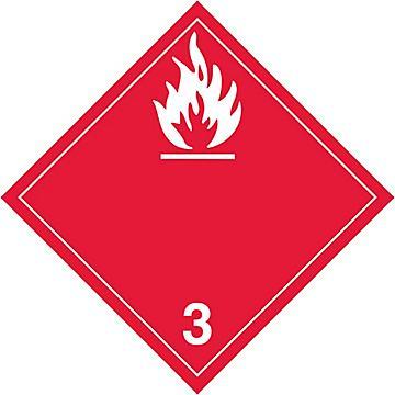 Hazard Class 3 International Placards