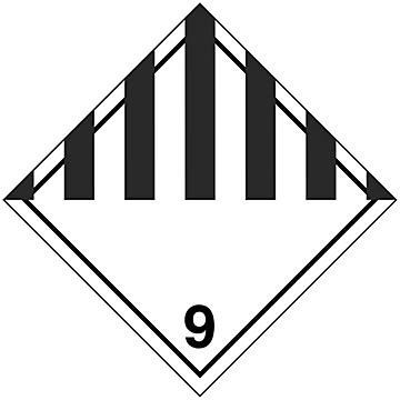 Hazard Class 9 International Placards