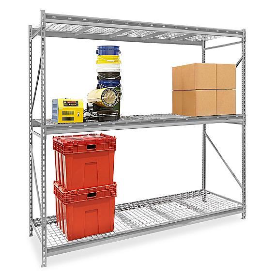 Bulk Storage Racks - Wire Decking