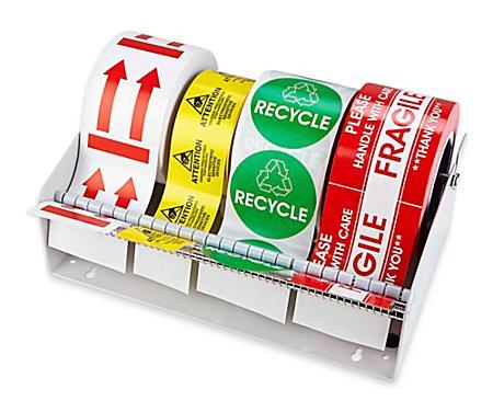 Uline Wall Mount Label Dispensers