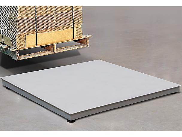 Stainless Steel Low Profile Floor Scales