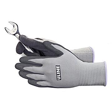 Uline Super Gription® Foam Nitrile Coated Gloves