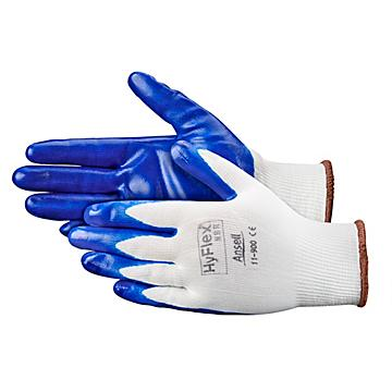 Ansell HyFlex® 11-900 Flat Nitrile Coated Gloves