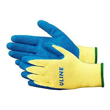 Uline Rubber Coated Kevlar® Cut Resistant Gloves