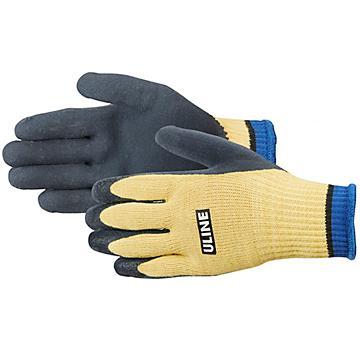 Uline Super Gription® Coated Kevlar® Cut Resistant Gloves