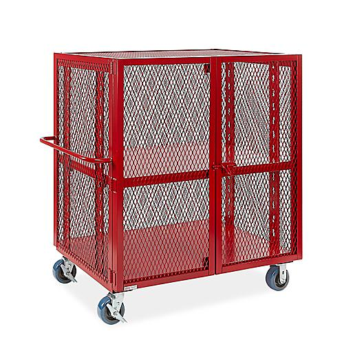 Welded Security Carts