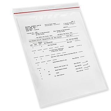 Reclosable Vinyl Envelopes