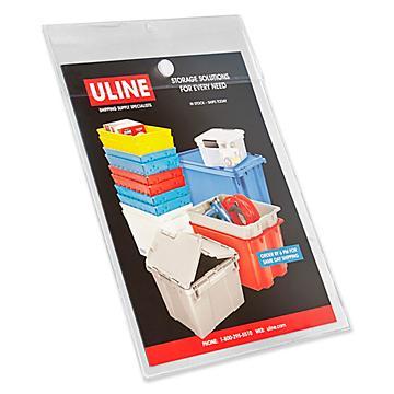 Velcro® Brand / Snap Vinyl Envelopes