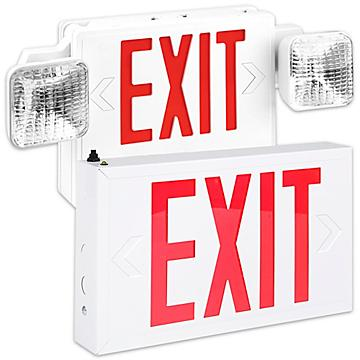 Hard-Wired Exit Signs