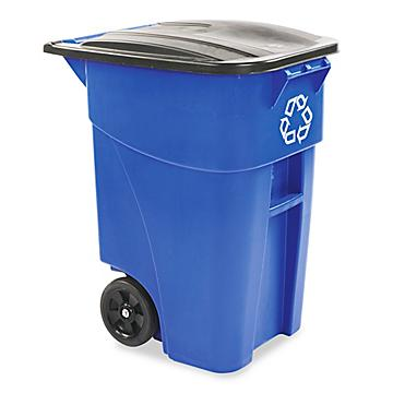 Recycling Containers with Wheels