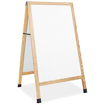 A-Frame Sign - White Markerboard
