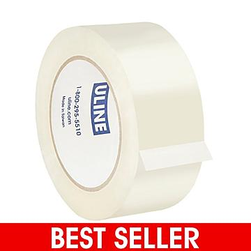 """Uline Industrial Tape - 2 Mil, 2"""" x 110 yds, Clear"""