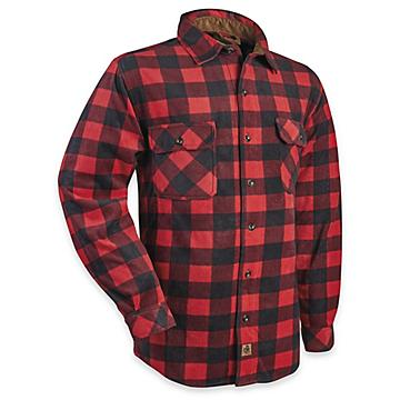Men's Plaid Fleece Shirt