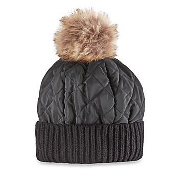 Ladies' Quilted Puff Hat